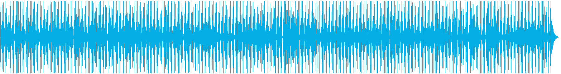 [High sound quality]  Walking jazz with cute tuba's reproduced waveform