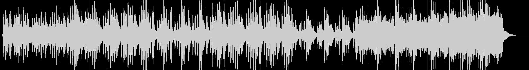 ホラー、サスペンス調のストリングス楽曲の未再生の波形