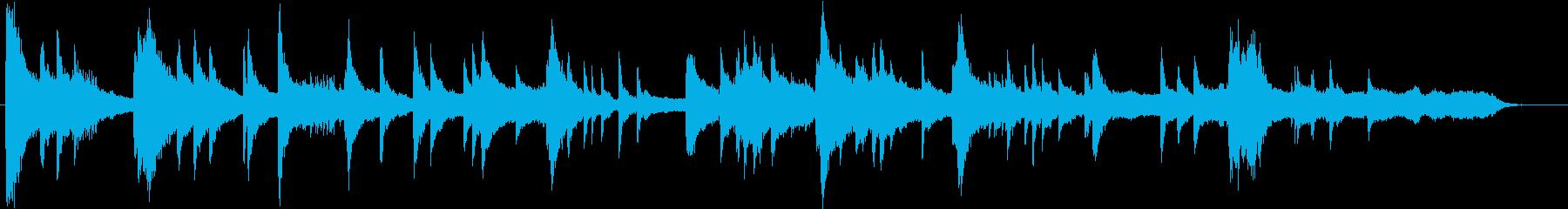 琴、ひちりき、太鼓、笙などを使った和風の再生済みの波形