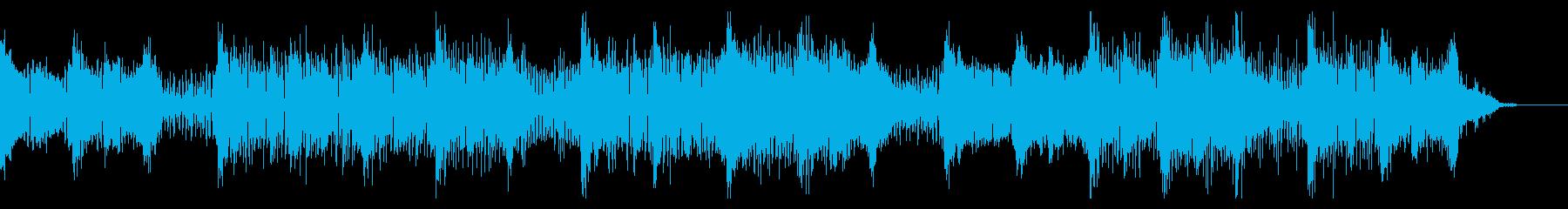 ダークに迫る緊張感あるブレイクの再生済みの波形
