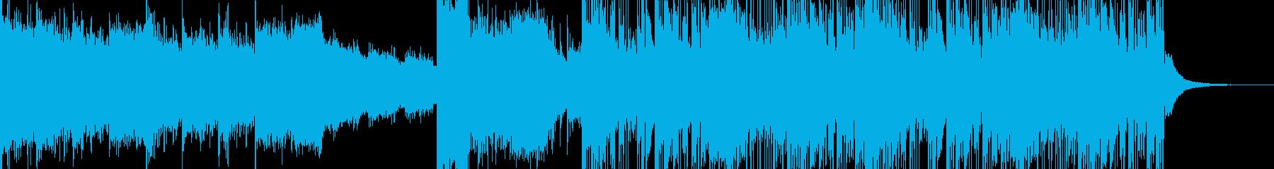 【トラップ】バトルシーンに合うビートの再生済みの波形