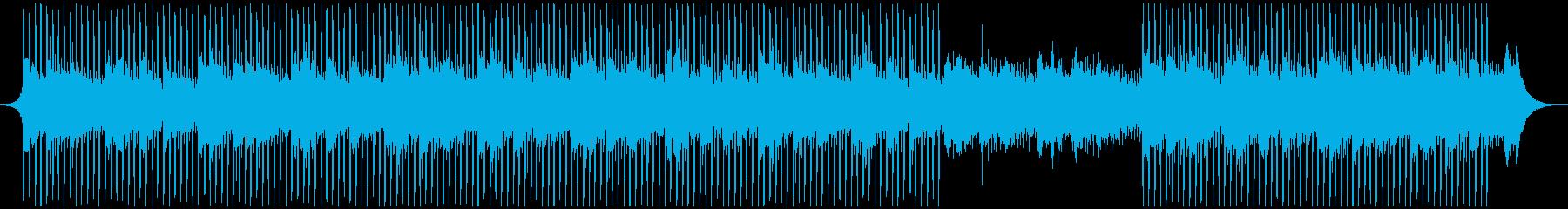 成功したスタートアップの再生済みの波形