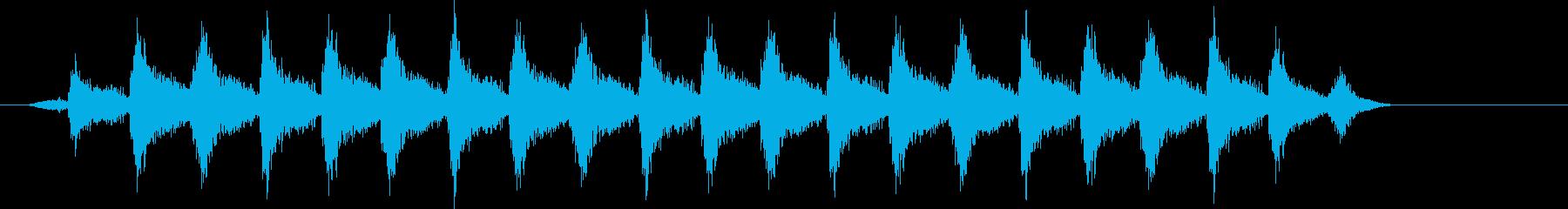 マーチング、ロボットスペースロボッ...の再生済みの波形