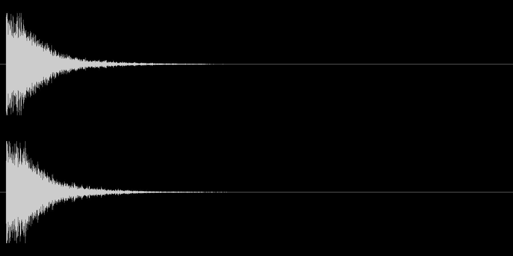 レーザー音-145-1の未再生の波形