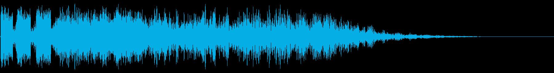 ZAP WHOOSHの再生済みの波形