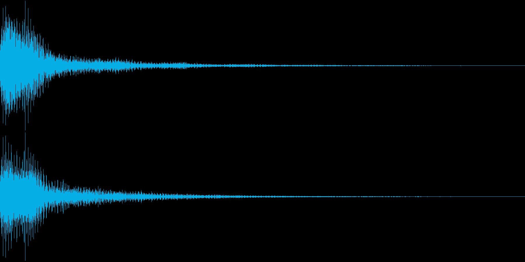 Moog ファットなコマンド音 4の再生済みの波形