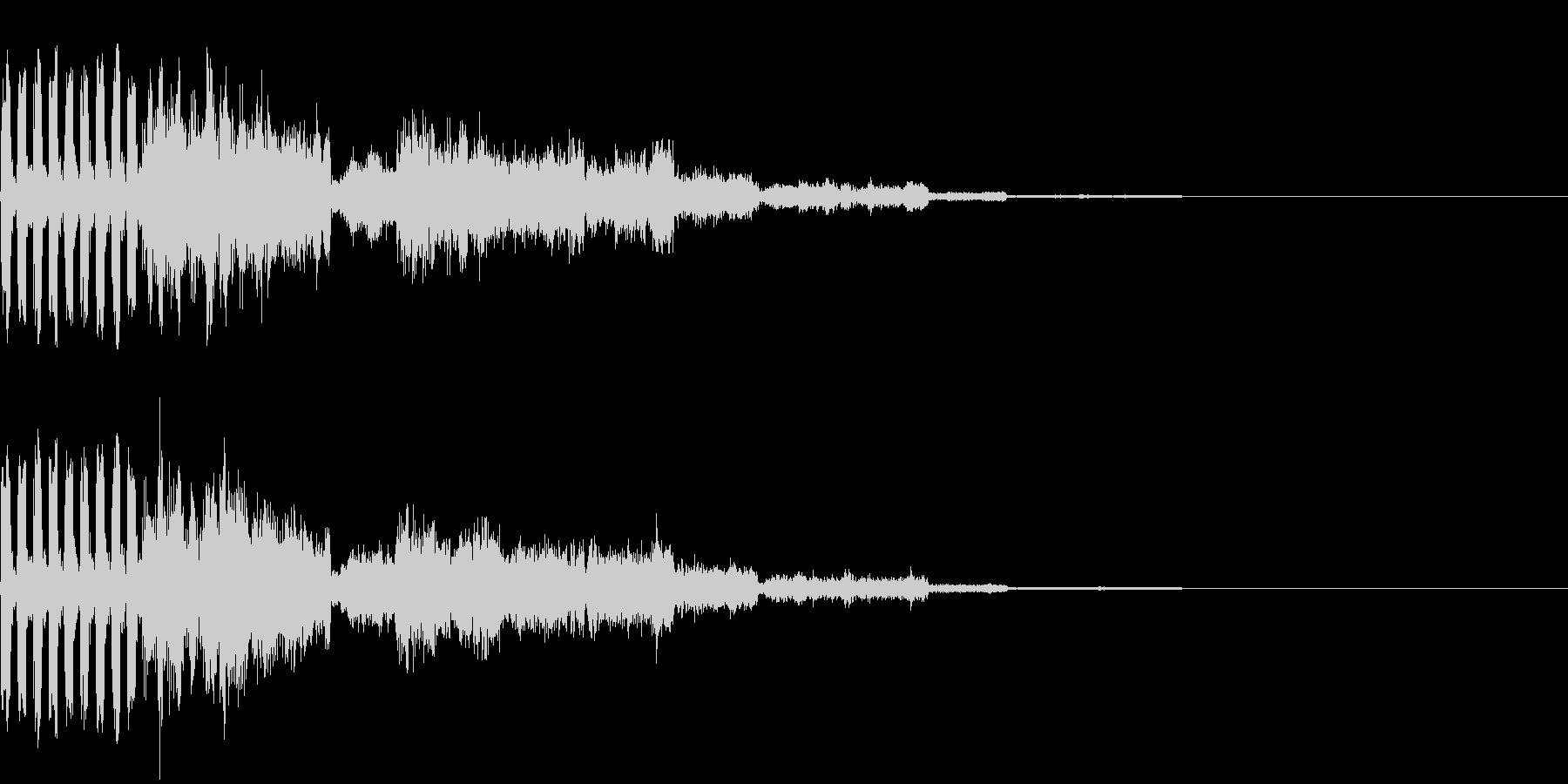239 FX緊急事態音の未再生の波形