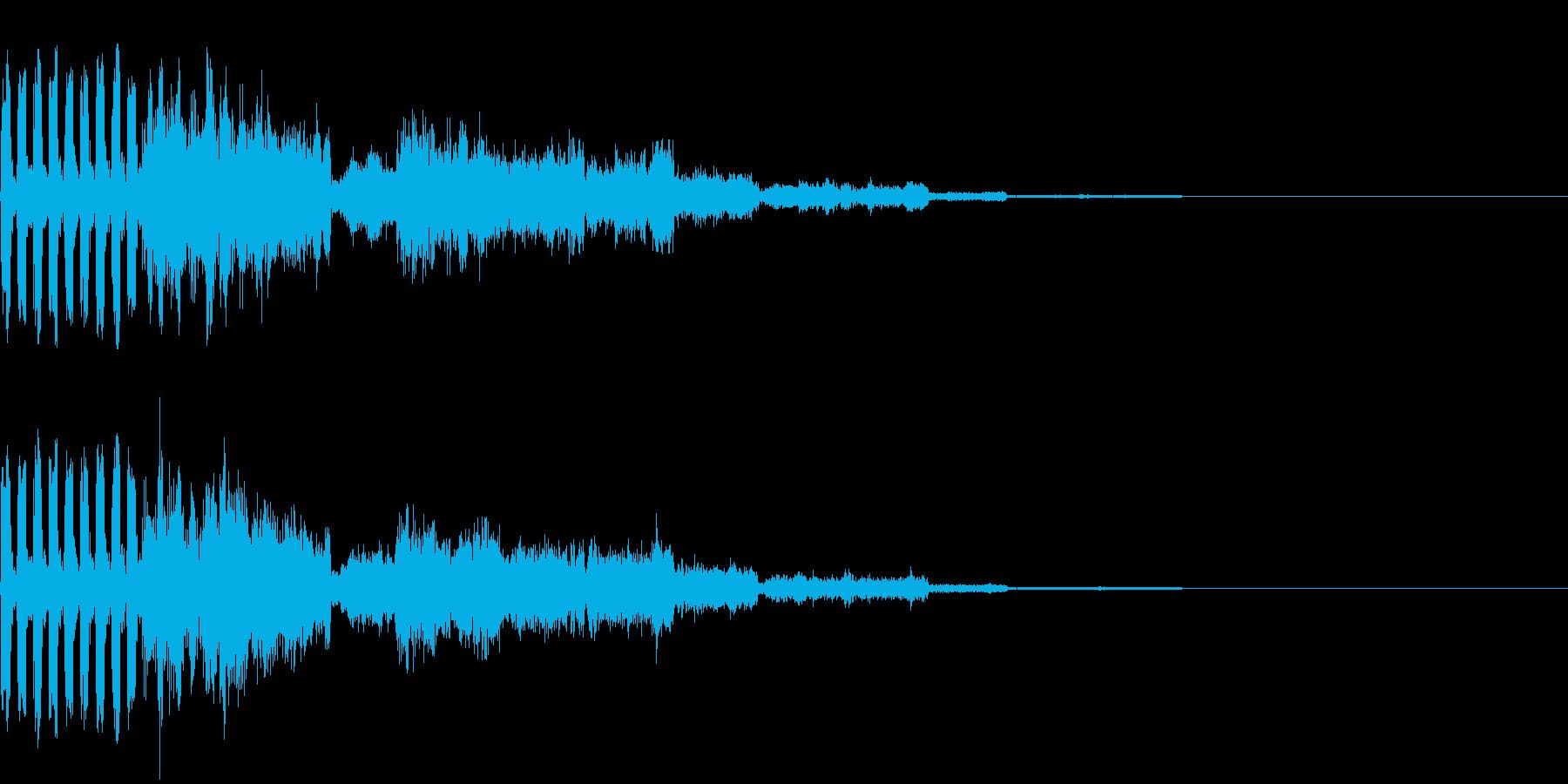 239 FX緊急事態音の再生済みの波形