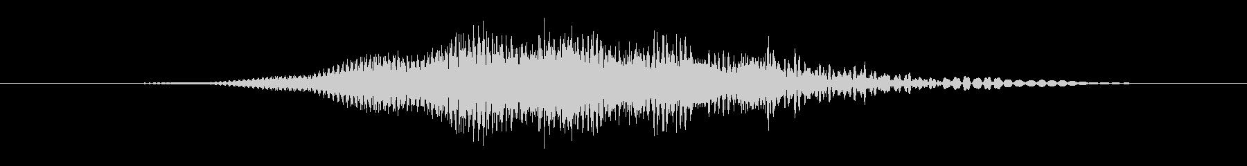 特撮 ホログラム表示09の未再生の波形