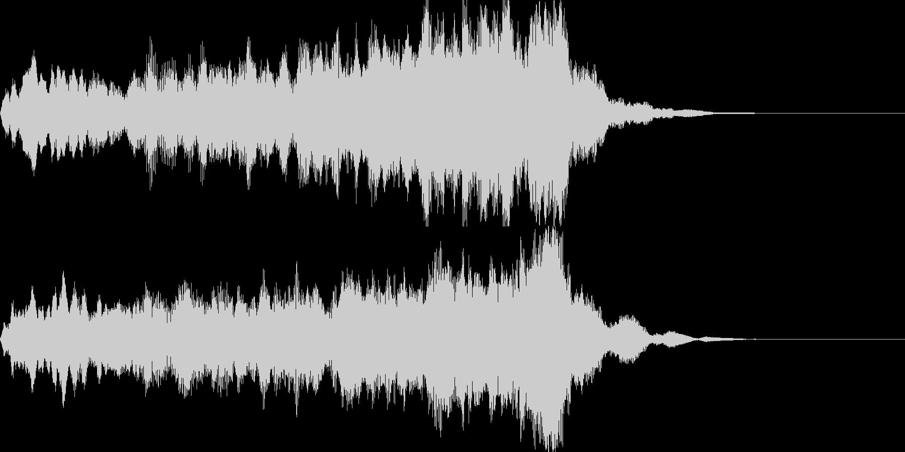コーラスクワイヤ 男女合唱 サウンドロゴの未再生の波形