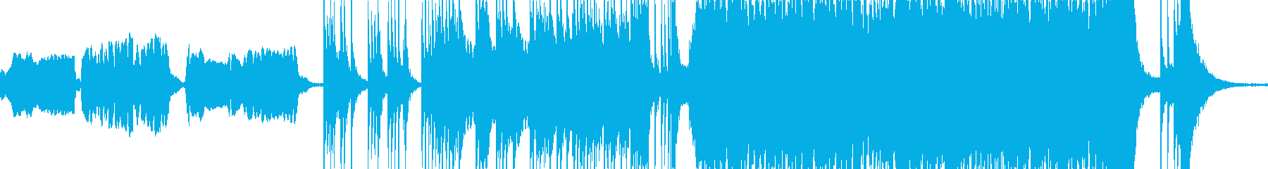 パーカッシブな民族的 和風曲ループの再生済みの波形