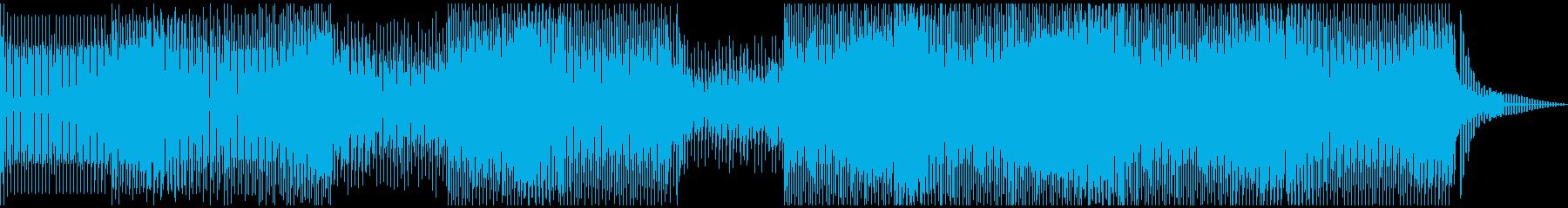 薄暗さをイメージしたディープハウスの再生済みの波形