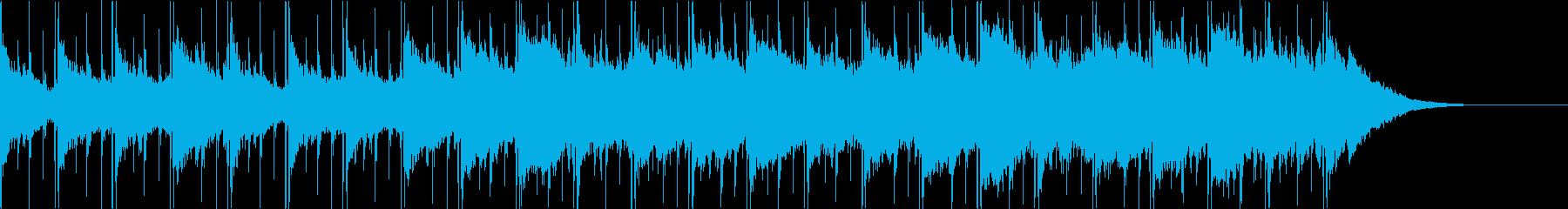 Pf「初秋」和風現代ジャズの再生済みの波形
