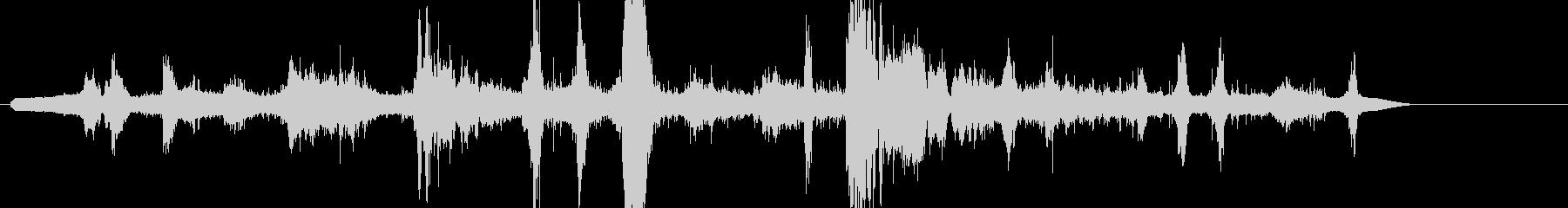 メタルストレスアンドスクレイプ、ハ...の未再生の波形