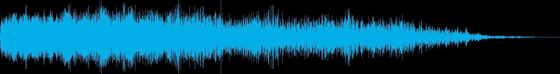 機械ダウン、壊れるA04の再生済みの波形