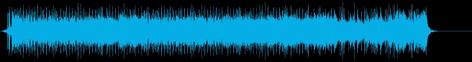 フレキシブルなギター・ロックの再生済みの波形