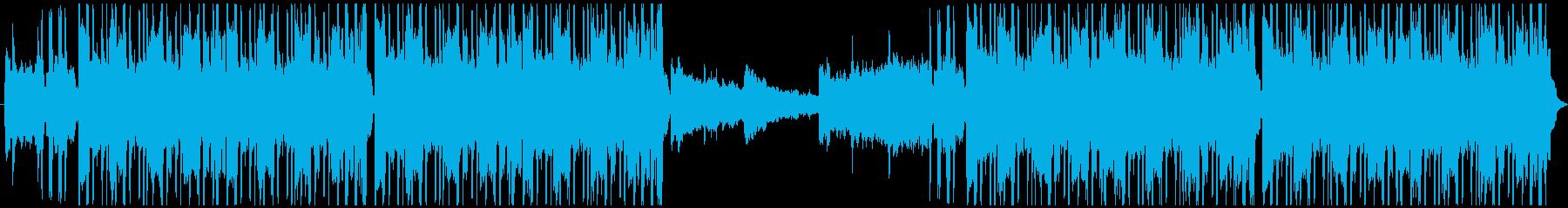 リラックスできるクールなヒップホップの再生済みの波形