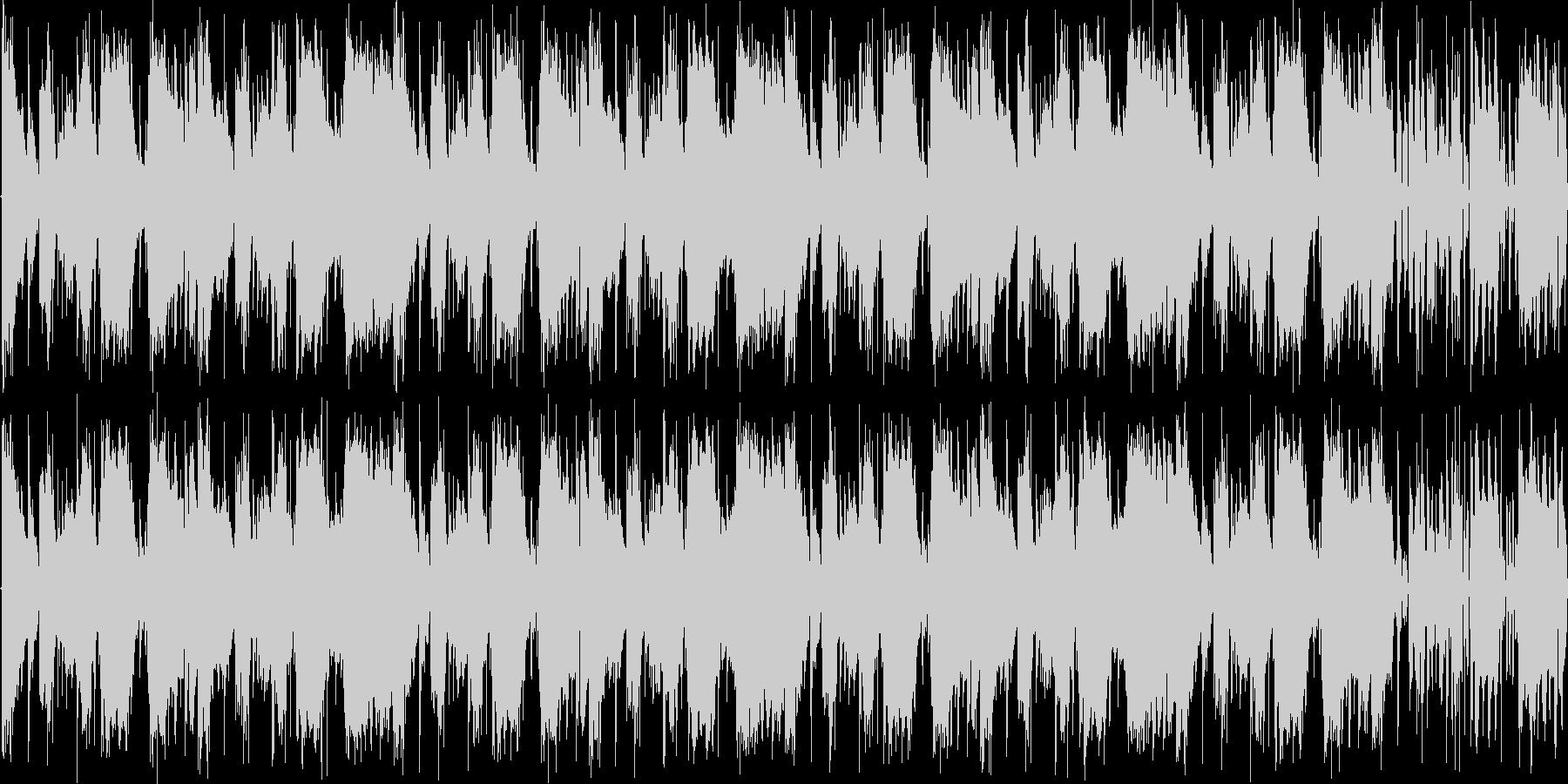 【コミカル/エレクトロニカ/TRAP】の未再生の波形