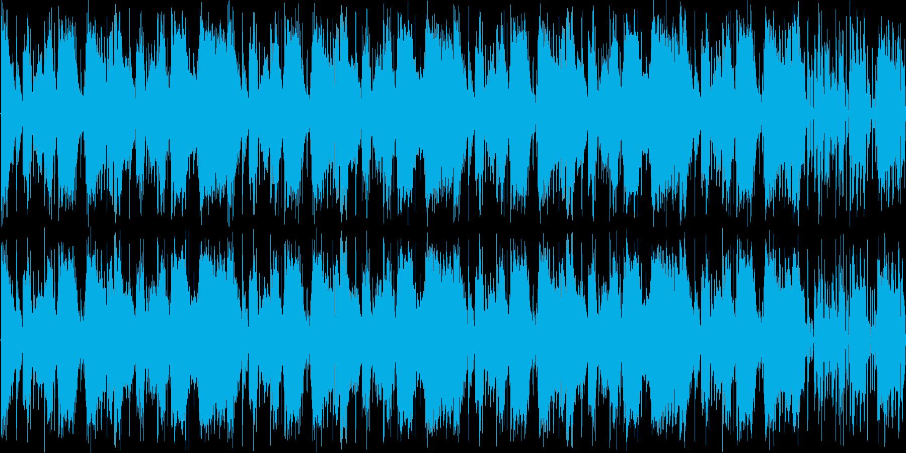 【コミカル/エレクトロニカ/TRAP】の再生済みの波形