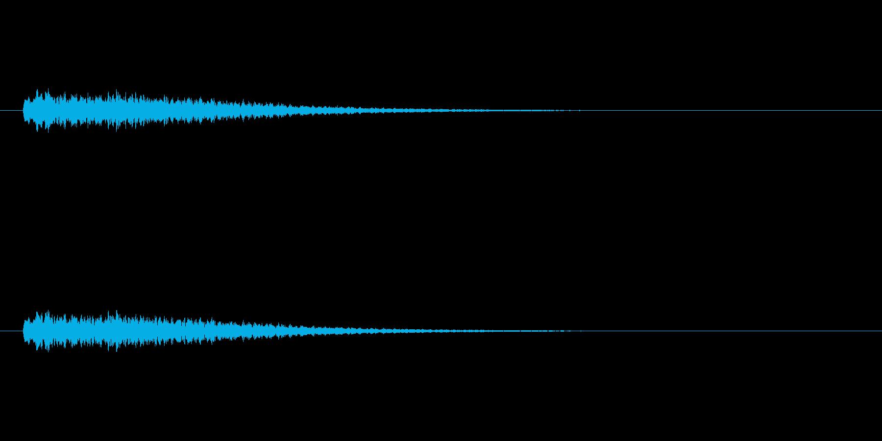 【ショートブリッジ30-2】の再生済みの波形
