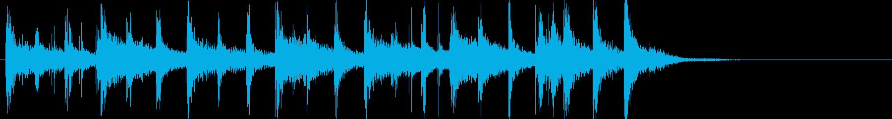 木琴メロディー:めちゃめちゃになっ...の再生済みの波形