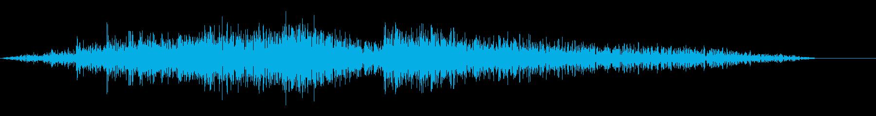 水中Int低金属ストレスの再生済みの波形