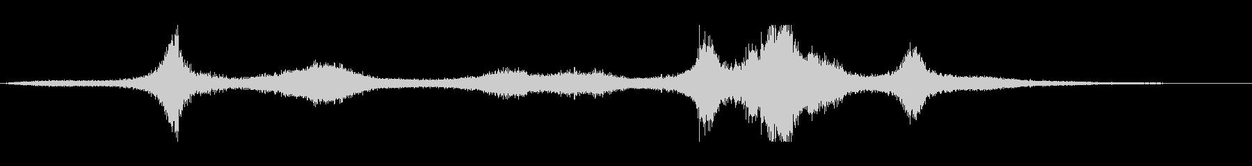 【生録音】 早朝の街 交通 環境音 12の未再生の波形