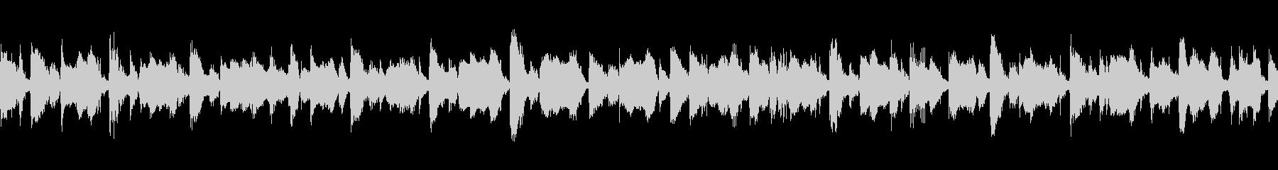 メロディックボサノバLOOPの未再生の波形