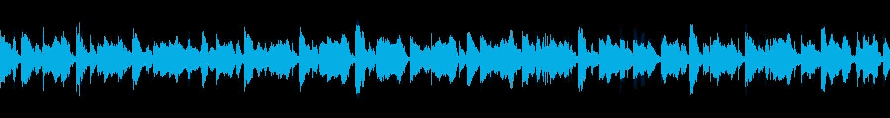 メロディックボサノバLOOPの再生済みの波形