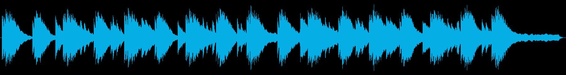 エレピ、ゆったりした神秘的な雰囲気の再生済みの波形