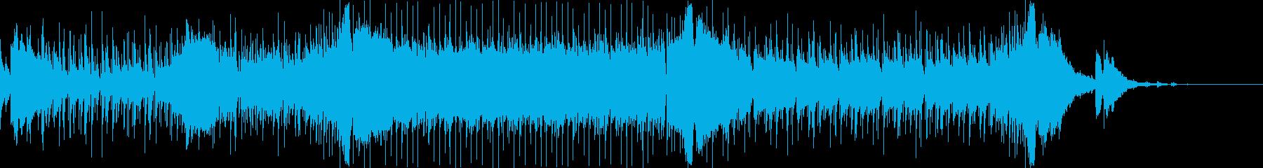 オシャレでさわやかな夏のトロピカルハウスの再生済みの波形