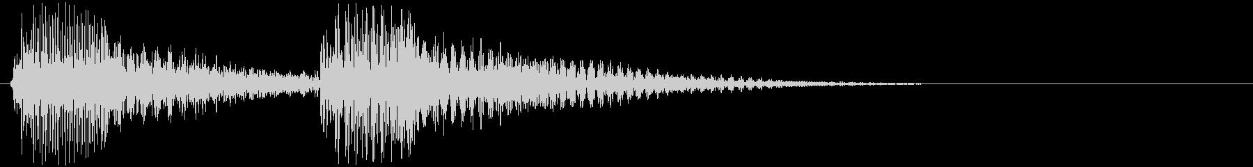 ちゃんちゃん♪(トランペット)の未再生の波形