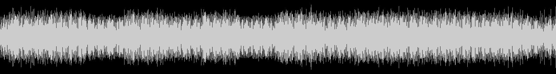 ポップで小粋なテクノミュージックの未再生の波形
