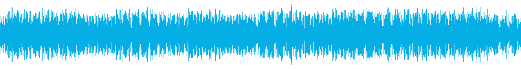 ポップで小粋なテクノミュージックの再生済みの波形