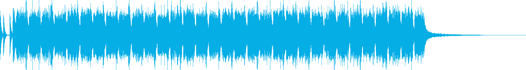 Synthwave CMの再生済みの波形