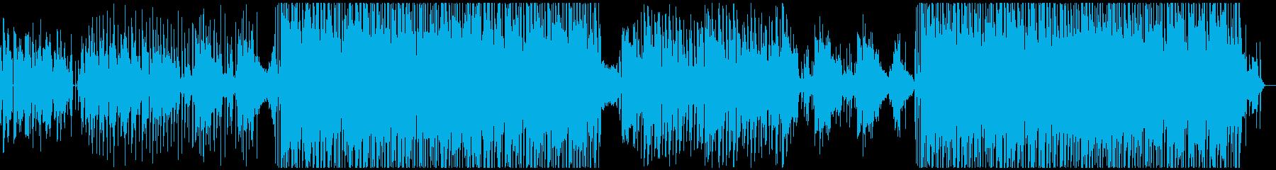 洋楽女性ボーカル/トロピカル・おしゃれの再生済みの波形