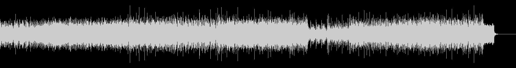 怪しげな重低音EDMの未再生の波形