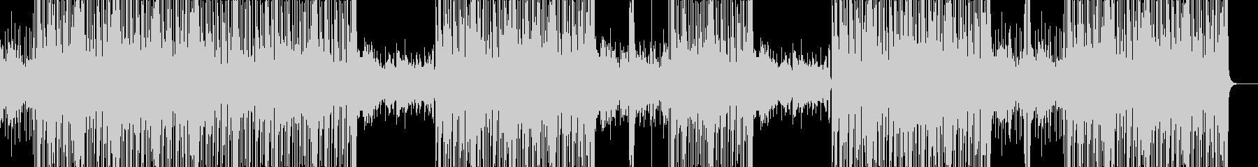 カッコいいビートのHIPHOP/BGMの未再生の波形
