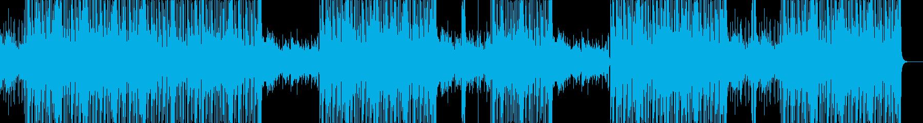 カッコいいビートのHIPHOP/BGMの再生済みの波形