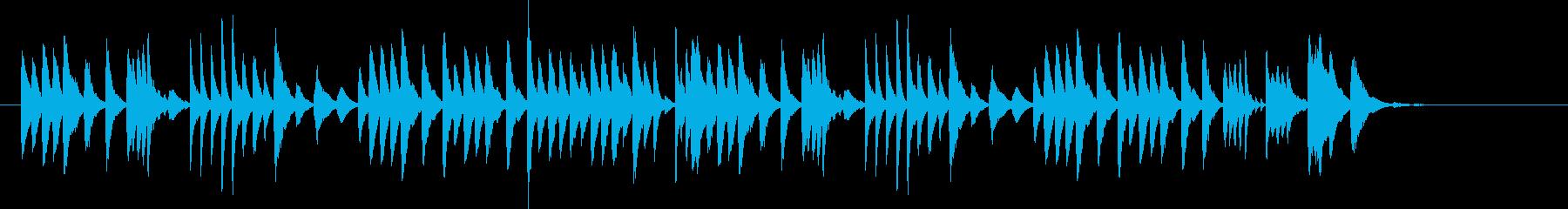 チャイコフスキー葦笛の踊りをマリンバでの再生済みの波形