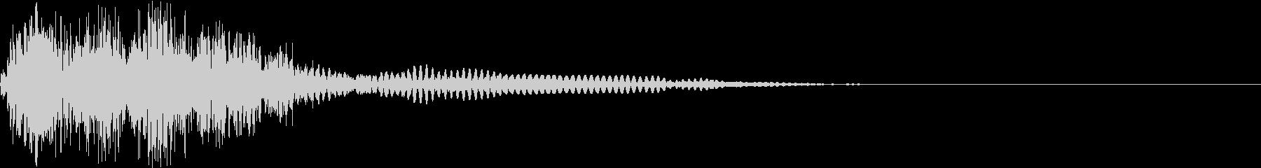 衝撃 ギター インパクト ノイズ 13の未再生の波形