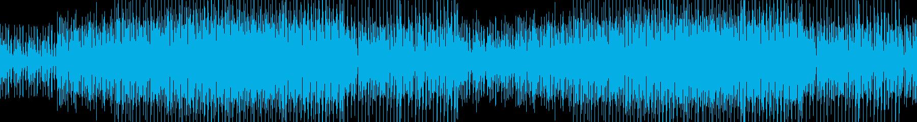 踊りたくなるファンク ループの再生済みの波形