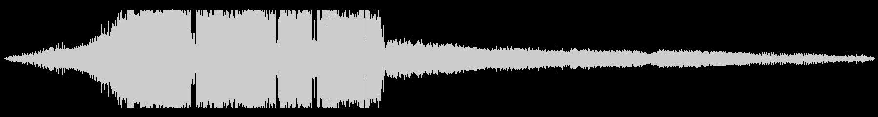 車 三菱パジェロV8高速加速長時間...の未再生の波形