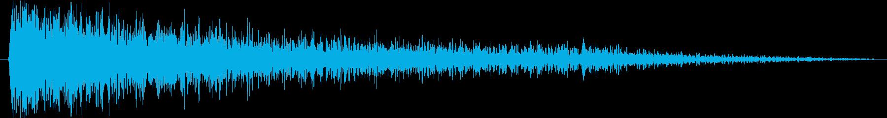 ピアノ:ドラマチックストリングヒッ...の再生済みの波形