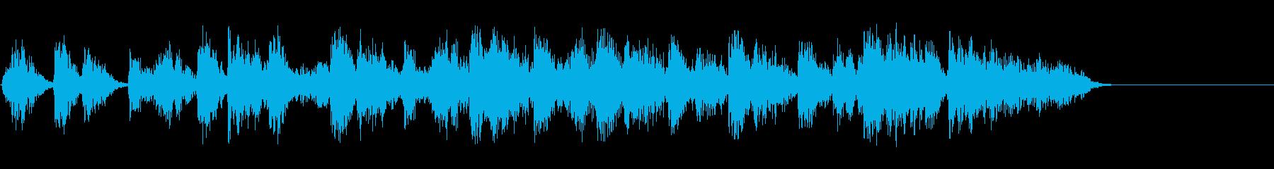 グランドピアノ:低音アクセント、漫...の再生済みの波形