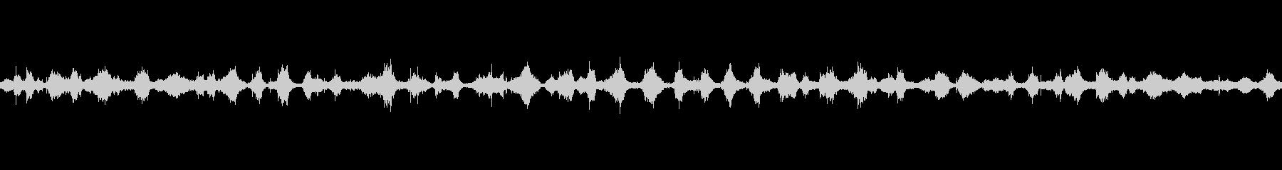 【バイノーラル】波の音ループ01の未再生の波形