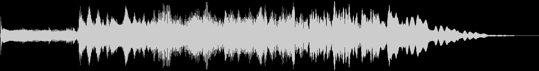サウンドロゴ、爽やかフレッシュ場面転換 の未再生の波形