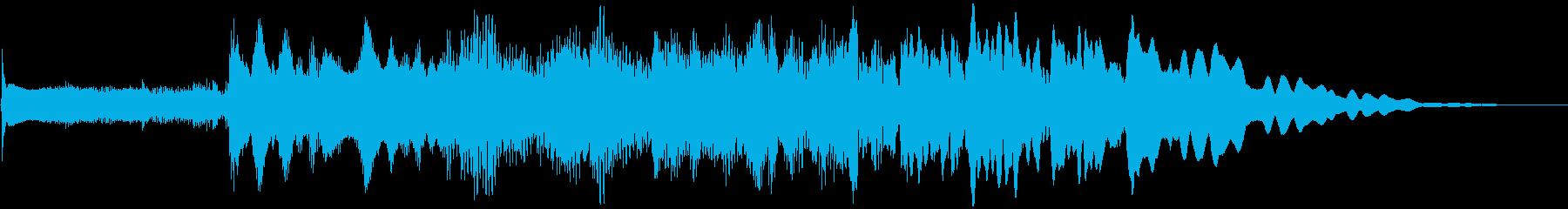 サウンドロゴ、爽やかフレッシュ場面転換 の再生済みの波形
