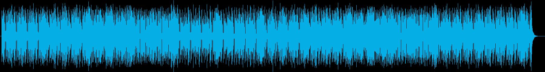 元気で楽しいファンファーレポップスの再生済みの波形
