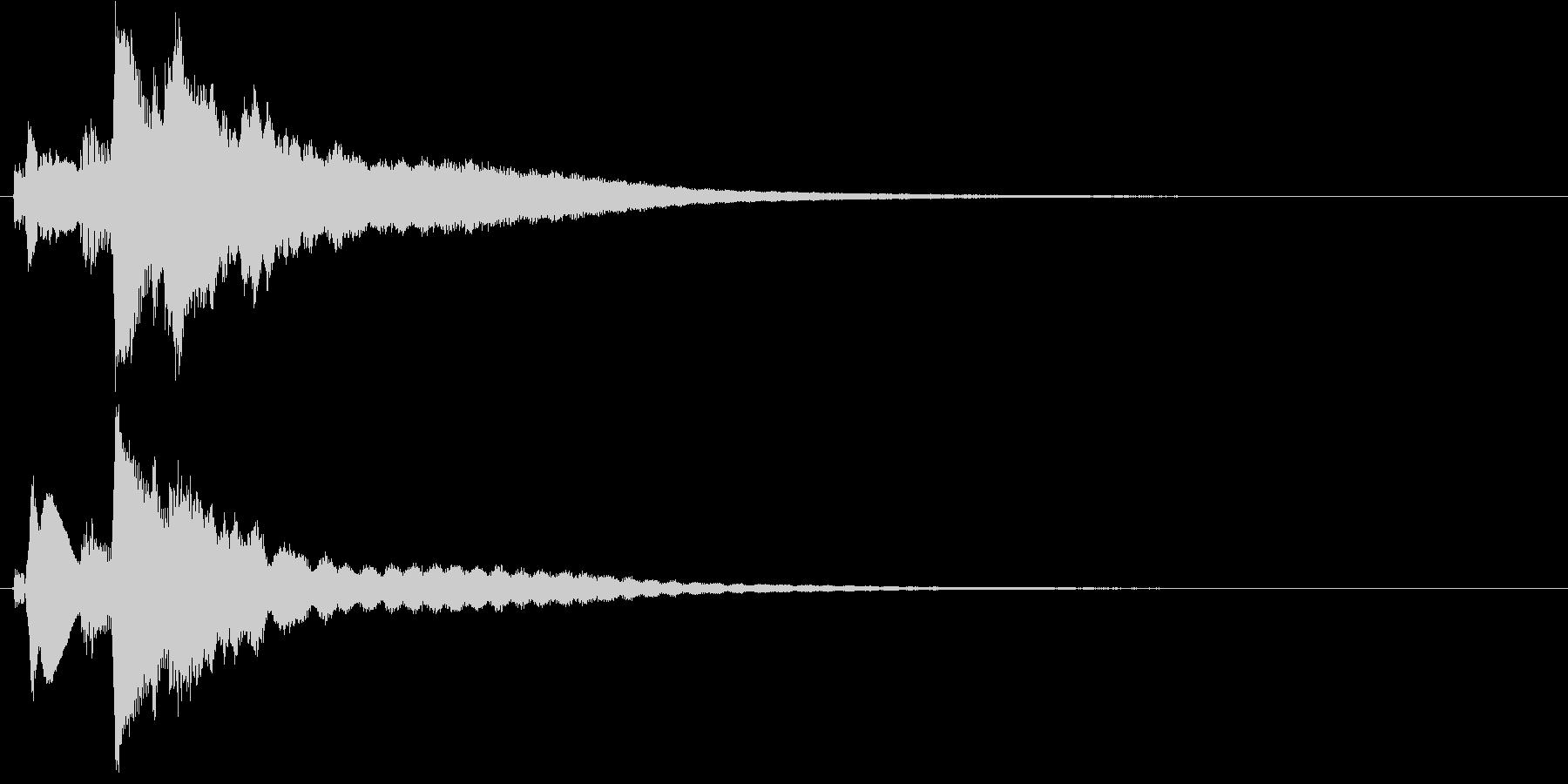 ぴろりんの未再生の波形